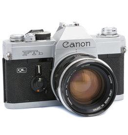 Canon Canon FTB QL 35mm SLR Camera w/50mm f1.4 FL Lens