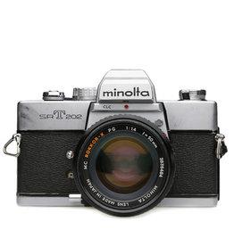 Minolta Minolta SRT-202 35mm SLR Film Camera w/50mm Rokkor-X f1.4