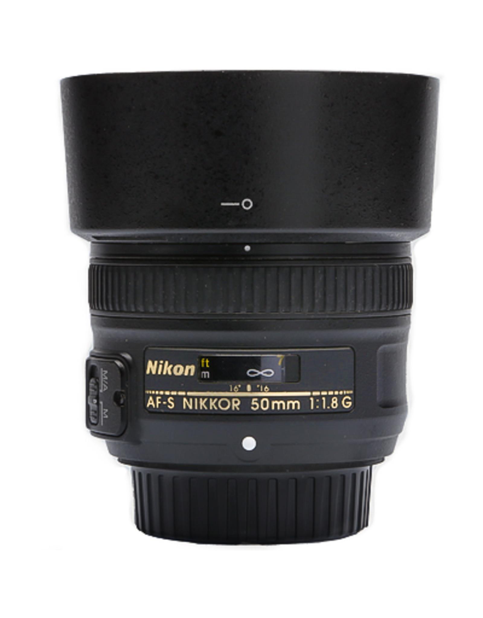 Nikon Nikon AF-S Nikkor 50mm f/1.8G Lens