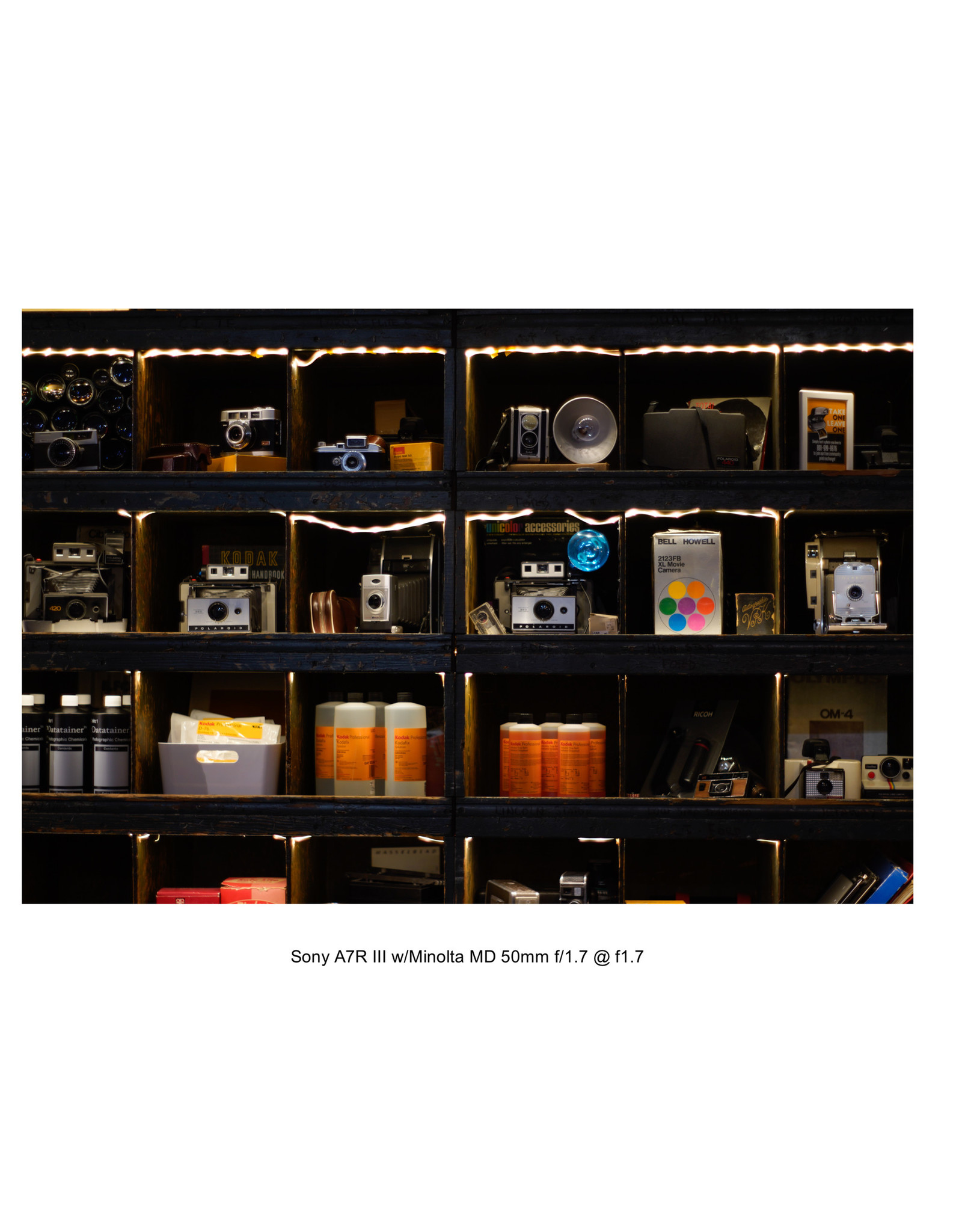 Minolta Minolta 50mm f/1.7 MD Lens