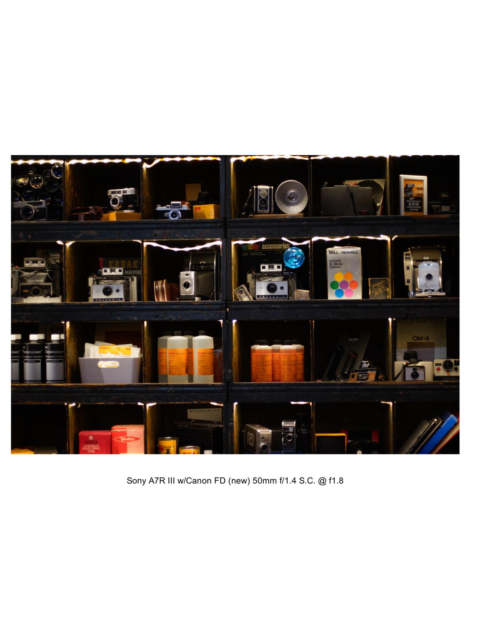Canon Canon A1 35mm SLR Camera w/50mm f1.8 Lens