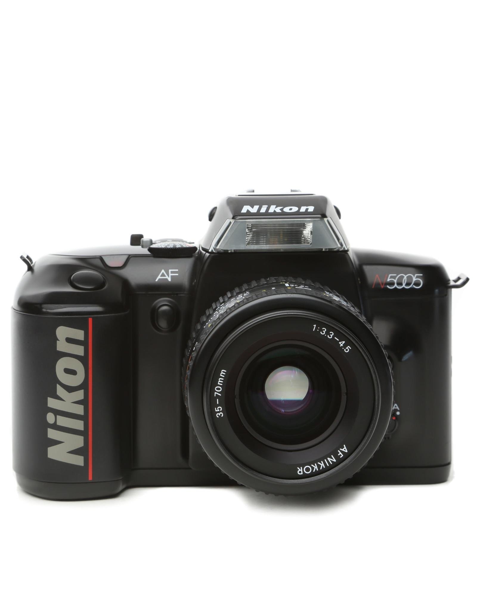 Nikon Nikon N5005 35mm SLR Camera w/35-70 Lens