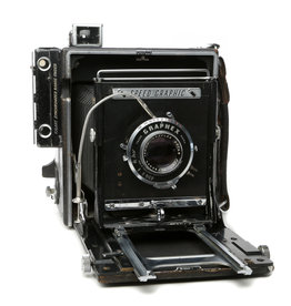 Graflex Graflex Speed Graphic 4x5 Field Camera Kit w/Optar 135mm f4.7