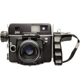 Omega Rapid Omega 200 Medium Format Film Camera w/ Koni Omega 90mm f/3.5 Lens