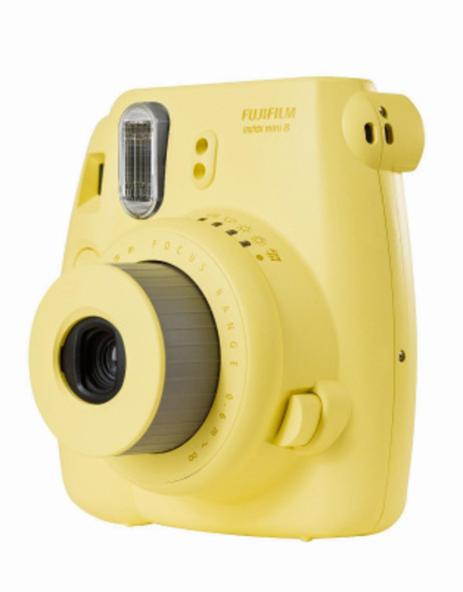 Fuji Fuji Instax Mini 8 Instant Film Camera (Yellow) used