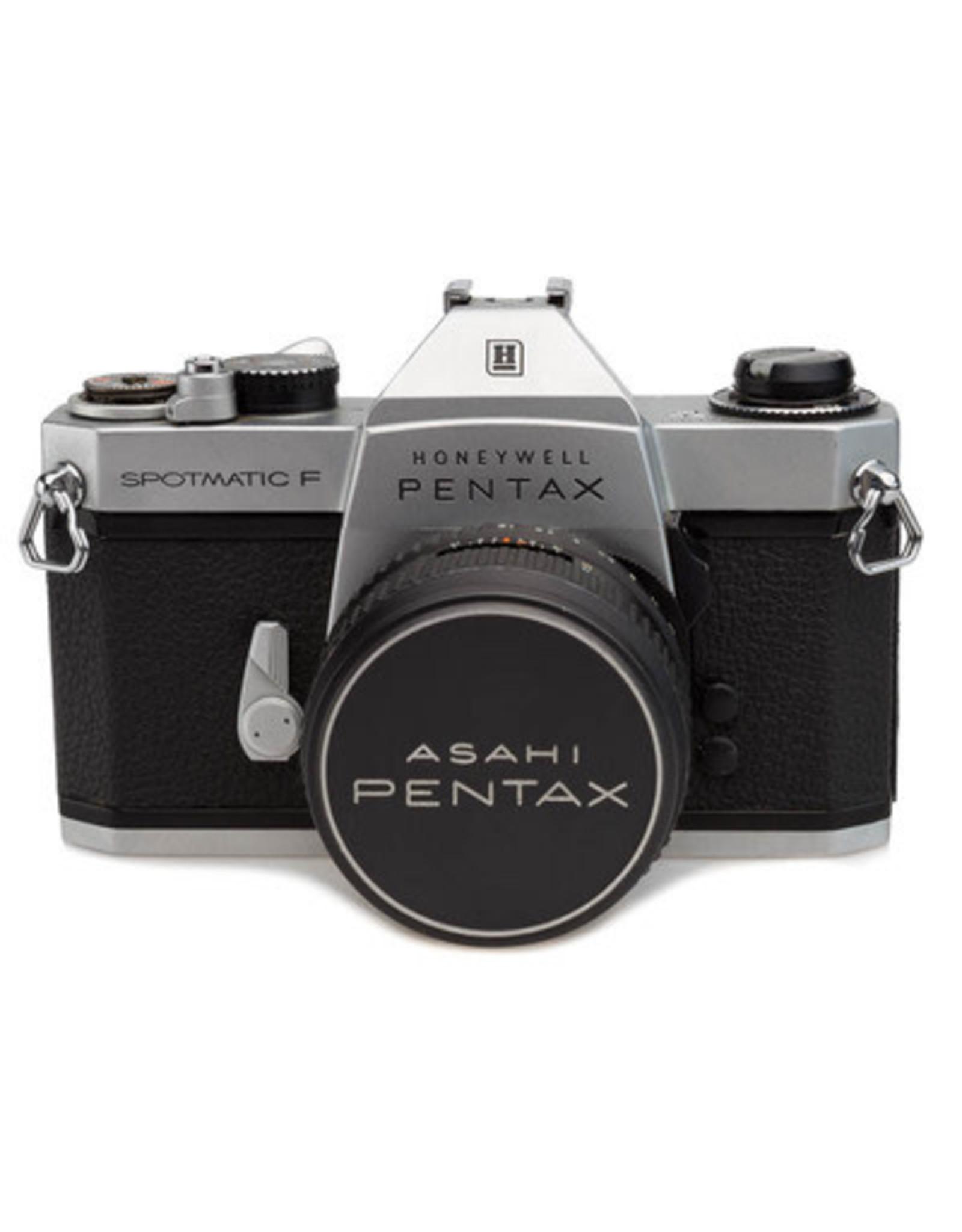 Pentax Pentax Honeywell Spotmatic w/55mm f/1.8 SMC Takumar lens