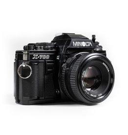 Minolta Minolta X-700 35mm SLR Camera w/50mm f2 Lens