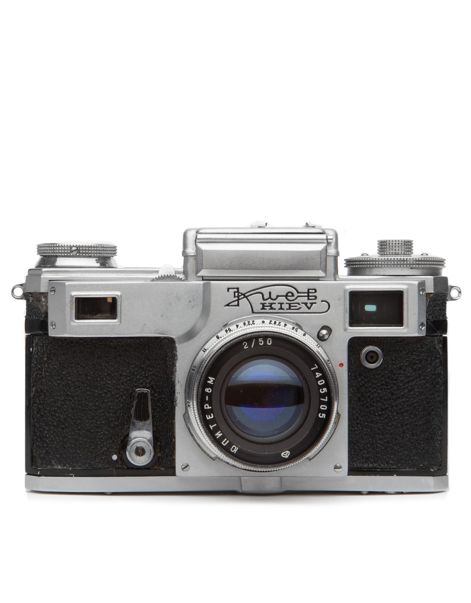 Kiev Kiev 35 Rangefinder Camera w/50mm f2 lens