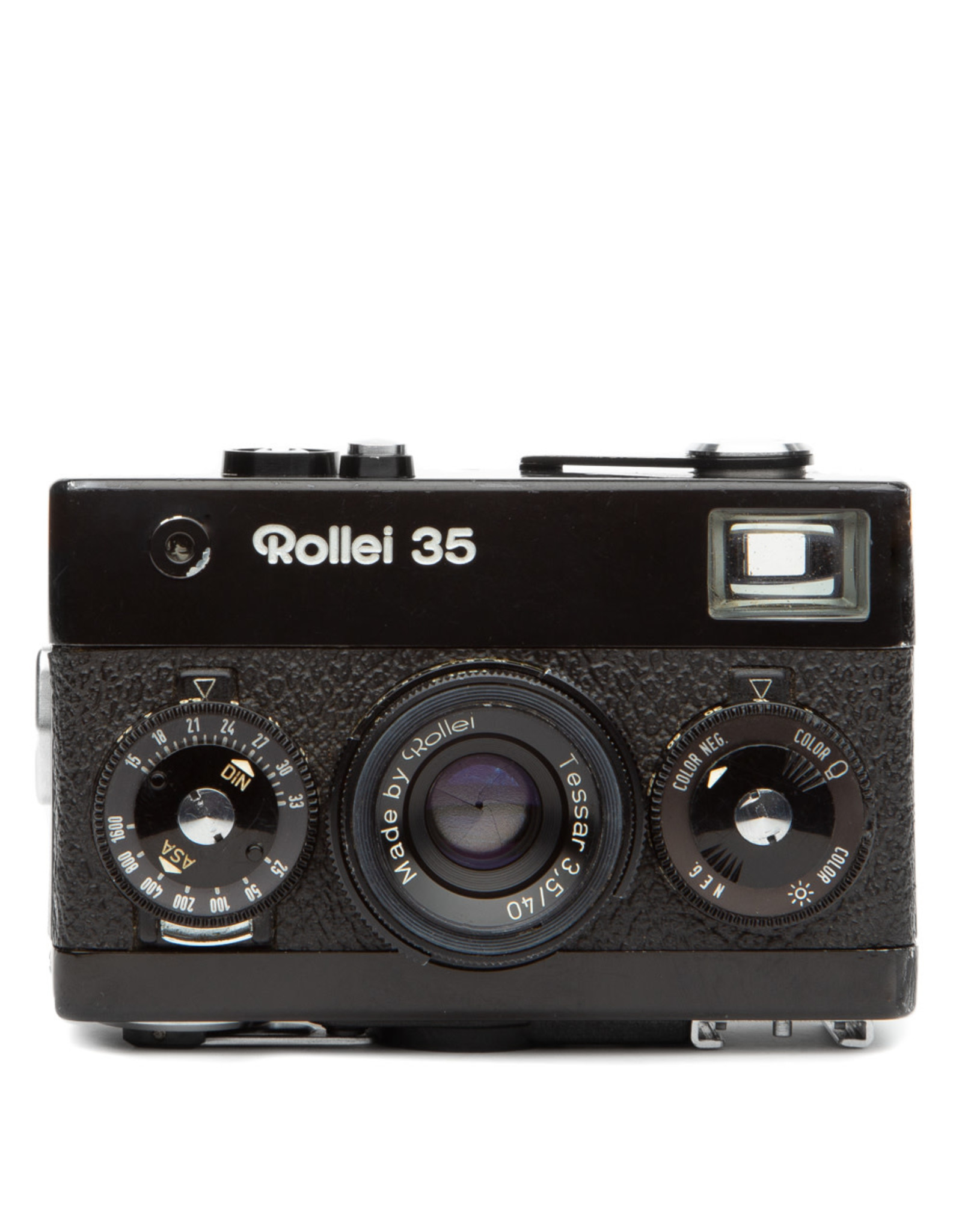 Rollei Rollei 35 Compact 35mm Camera w/Tessar 3.5 40mm Lens & Flash (black)