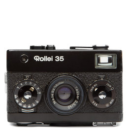 Rollei Rollei 35 Compact 35mm Camera w/Tessar 3.5 40mm Lens & Flash (black)