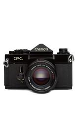 Canon Canon F1 Pro 35mm SLR Film Camera w/50mm f1.4 S.S.C. lens