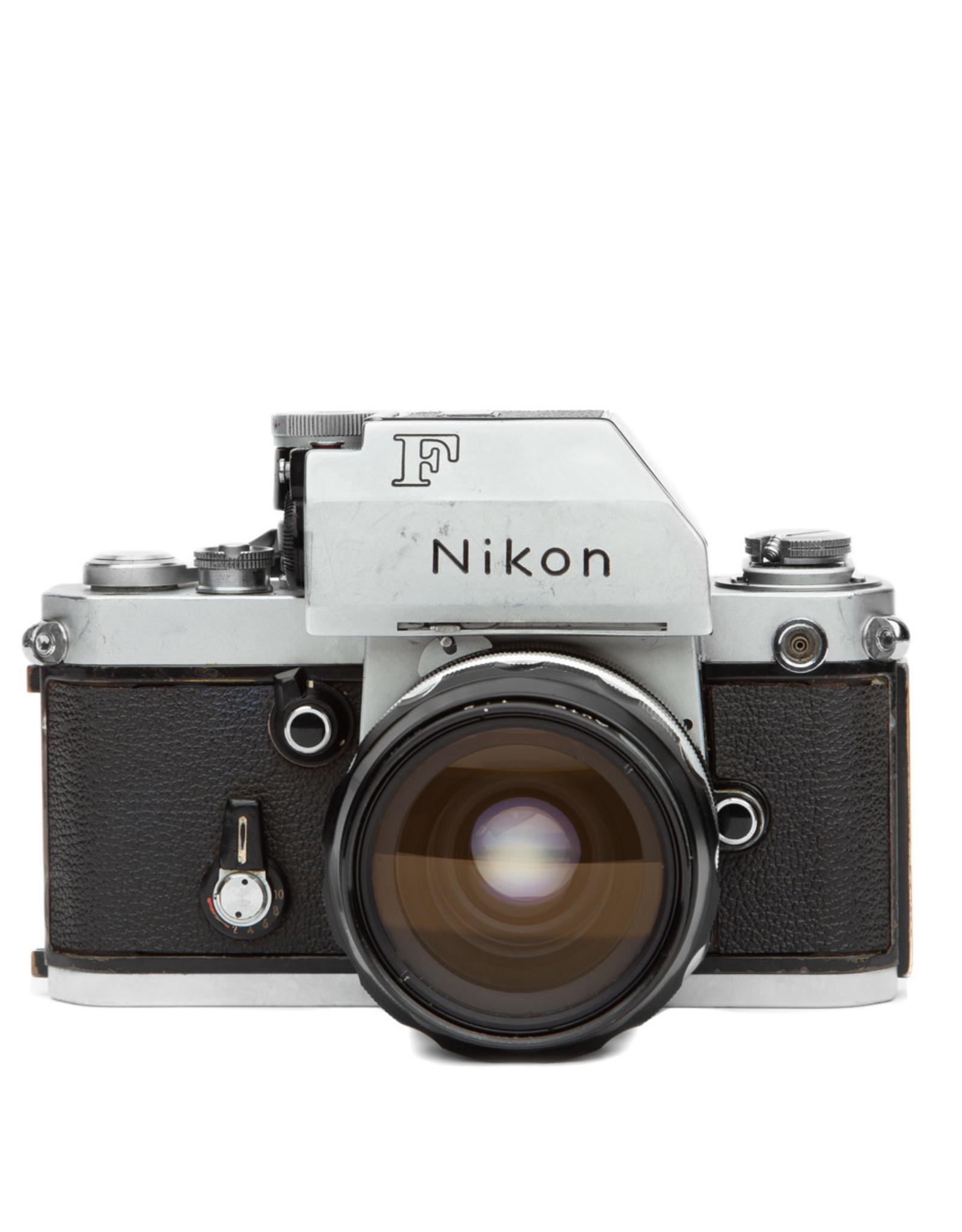 Nikon Nikon F2 35mm SLR Camera Body (silver) w/35 f2