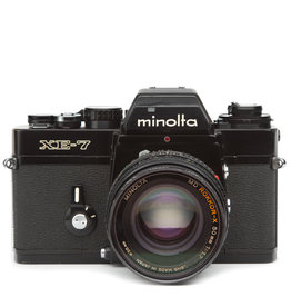 Minolta Minolta XE-7 35mm SLR Camera w/50mm F1.7 Lens