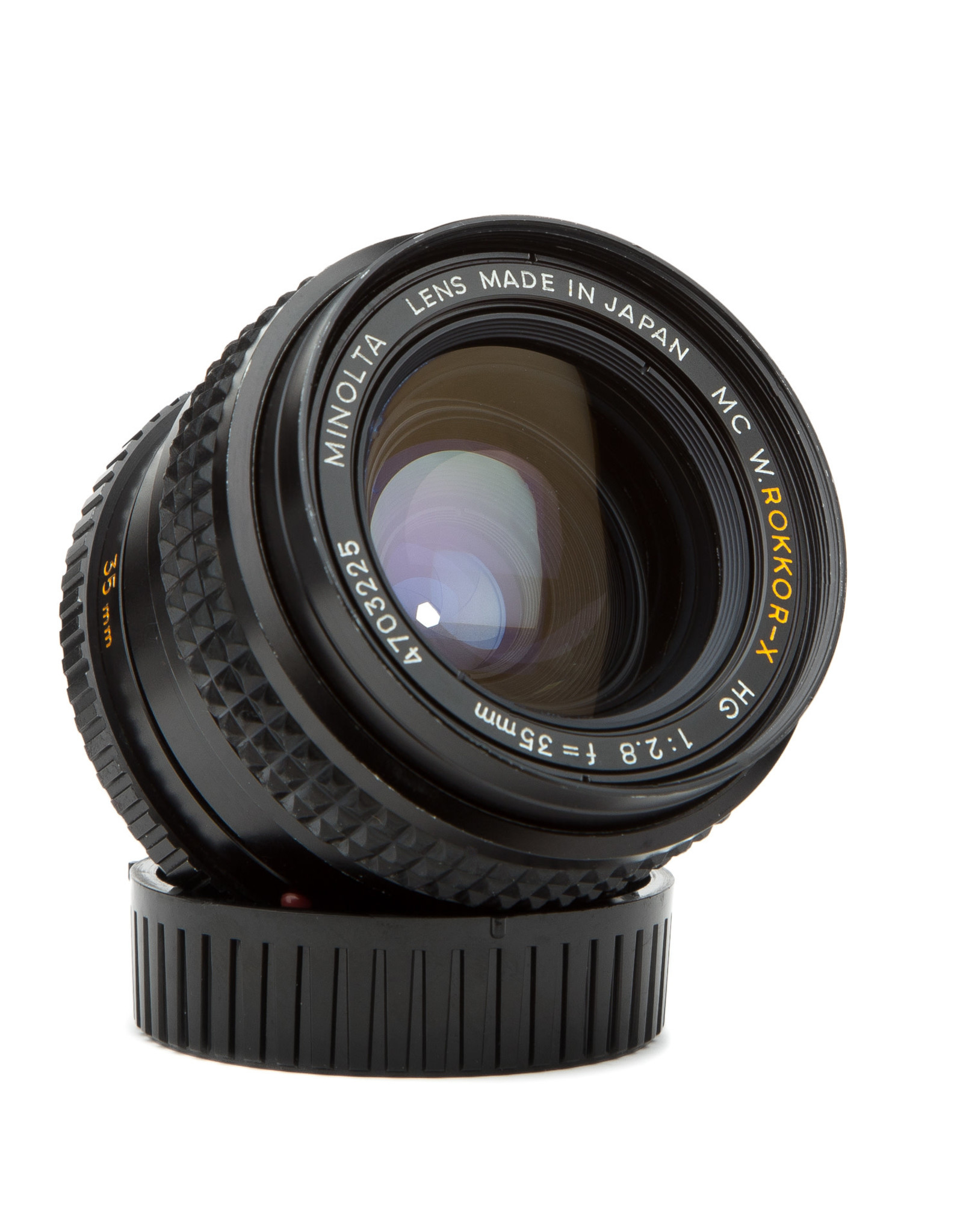 Minolta Minolta MC W Rokkor-X HG 35mm f2.8 Lens