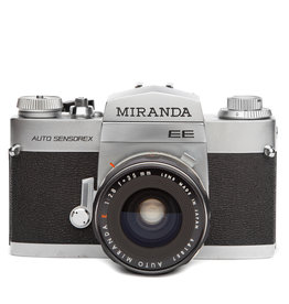 Miranda EE Auto Sensorex w/35mm f2.8 SLR Camera