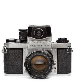 Pentax Pentax Spotmatic SV F 35mm SLR w/55mm f1.8 Takumar Lens