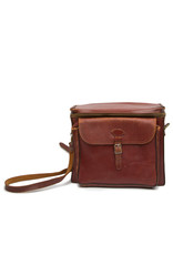 Perrin Vintage Perrin No. 710-L Leather Camera Bag Ox Blood