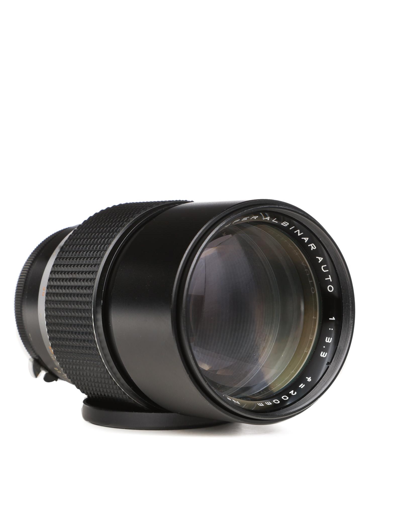 Albinar Super  Albinar 200mm f/3.3 Lens for Nikon F