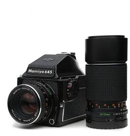 Mamiya Mamiya M645 1000s w/Prism and 80mm f2.8 & 210mm f4