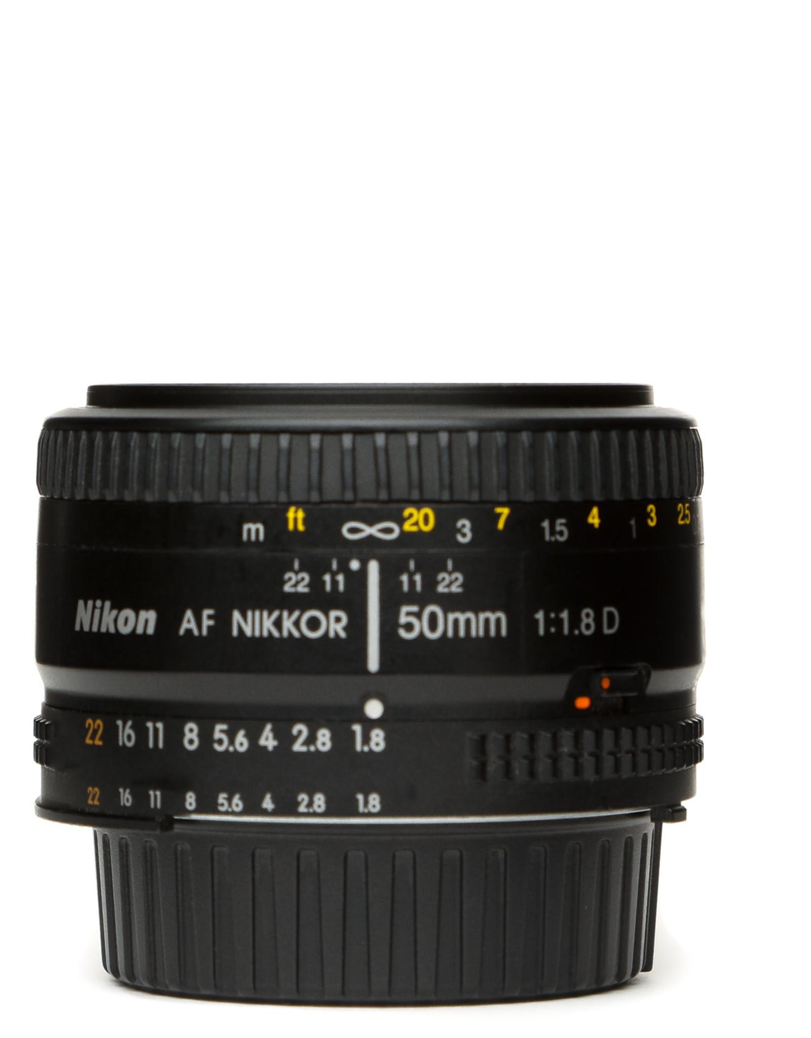 Nikon Nikon 50mm f1.8 AF D Lens