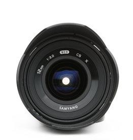 Fuji Samyang 12mm Manual Focus Lens Fuji FX