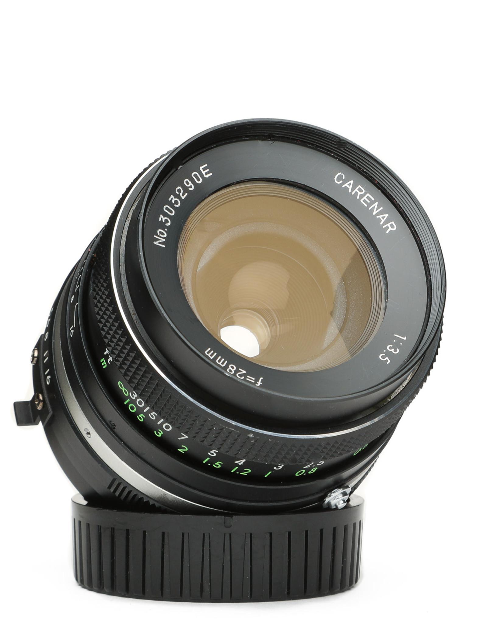 Carenar Carenar 28mm f/3.5 Lens for Olympus MD