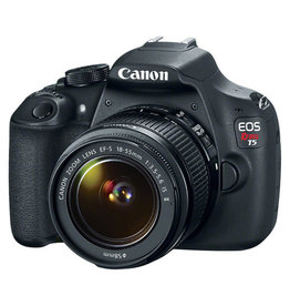 Canon Canon Digital Rebel T5 SLR w/18-55 f3.5-5.6 IS Kit Semester Rental