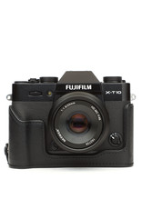 Fuji FujiFilm X-T10 Black Camera Kit w/25mm f1.8 LM Lens