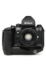 Nikon Nikon F4 35mm SLR w/MF-23 Data Back, MB-21 Grip & DA-20 Finder