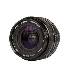 Sigma Sigma Mini-Wide 28mm f2.8 Lens for Olympus OM