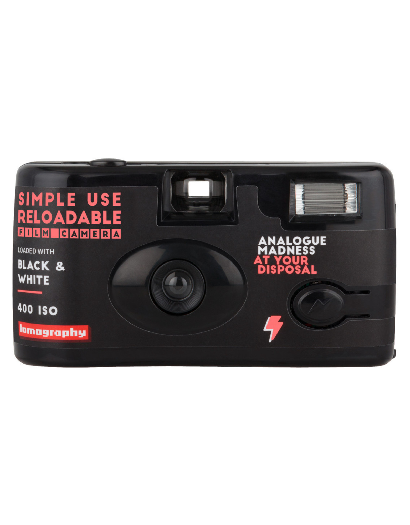 Lomography Lomography Simple Use Camera  Black & White