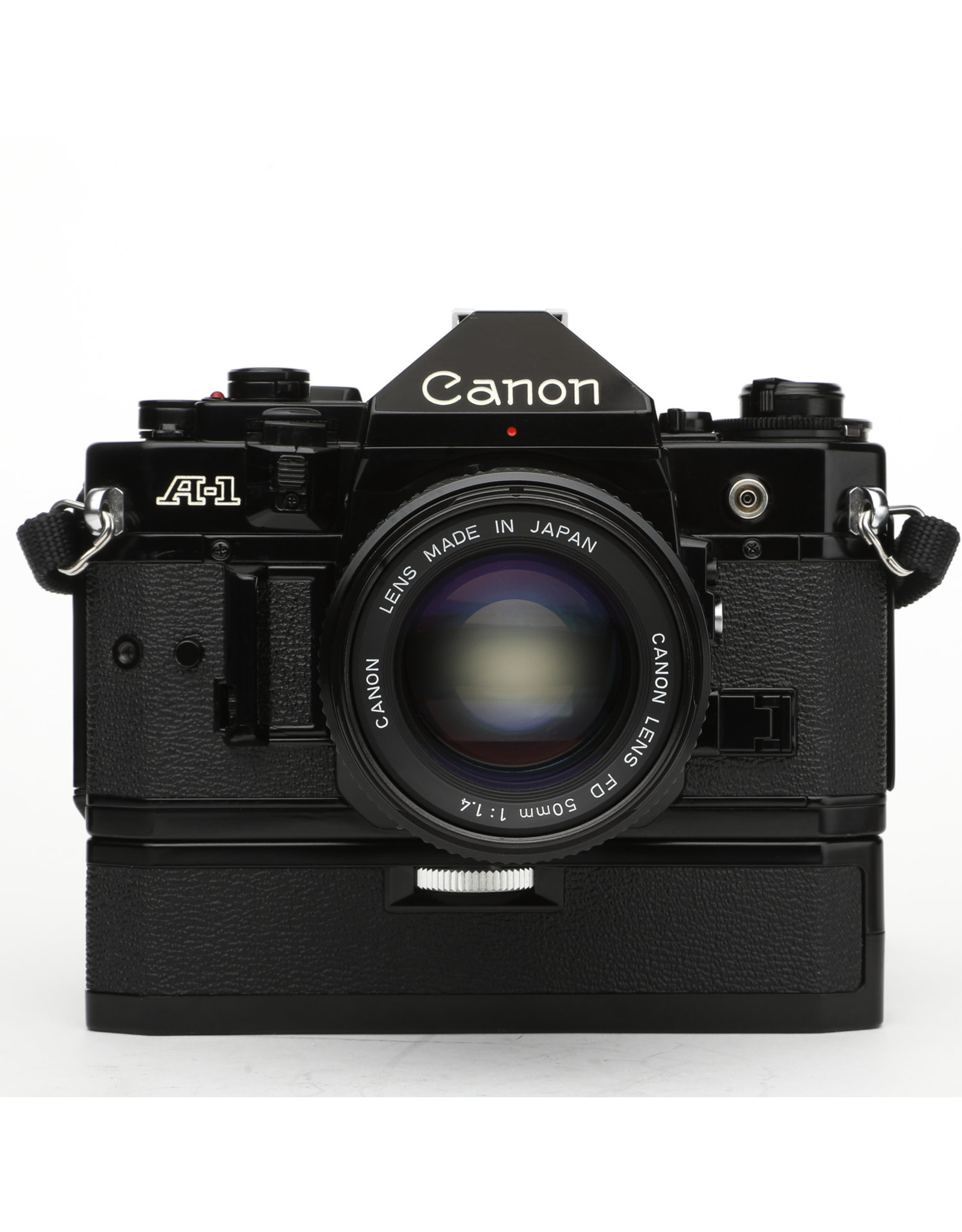 Canon Canon A1 35mm SLR Camera w/50mm f1.4 Lens & Drive