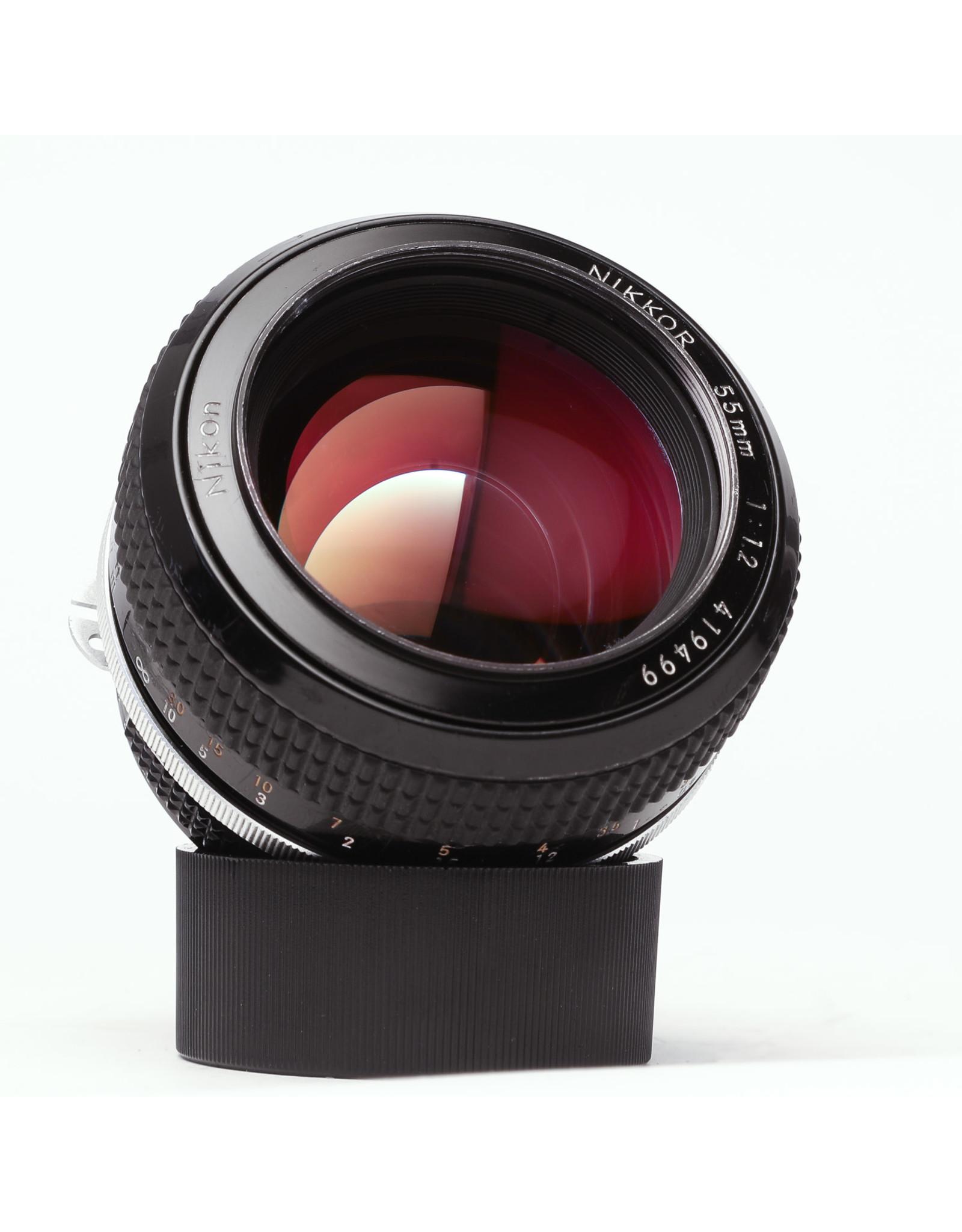 Nikon Nikon NIKKOR 55mm f/1.2 Ai S Lens