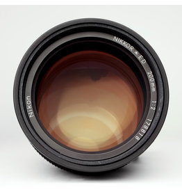 Nikon Nikon 200mm f2 Ai S Manual Focus Lens
