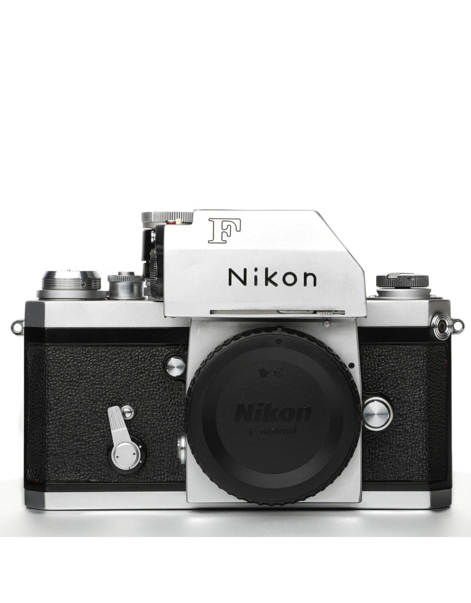 Nikon Nikon F 35mm Camera w/Photomic Prism Finder