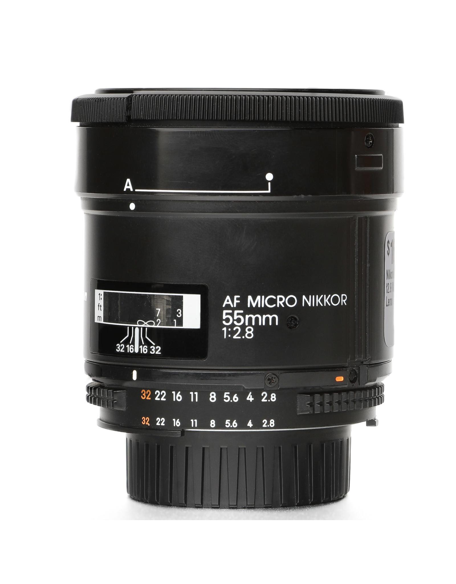 Nikon Nikon AF 55mm f2.8 Micro Nikkor Lens