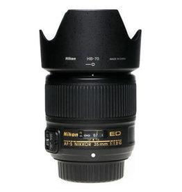 Nikon Nikon AF-S NIKKOR 35mm f/1.8G ED lens