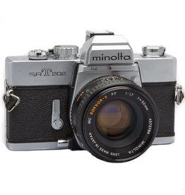 Minolta Minolta SRT-202 35mm SLR Film Camera w/50mm f1.7
