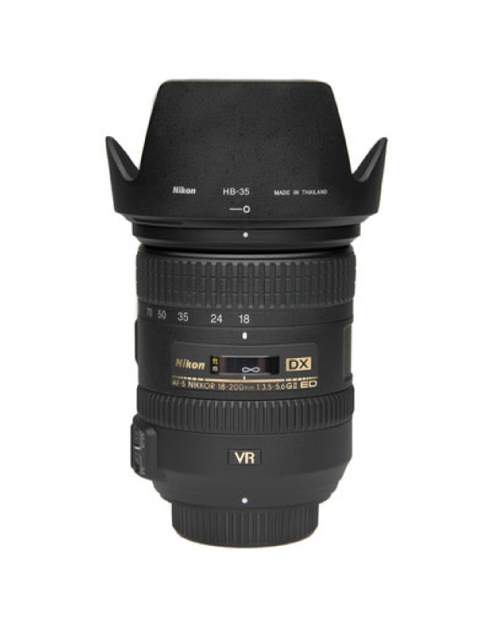 Nikon Nikon AF-S Nikkor 18-200 F3.5-5.6 G DX  ED VR lens