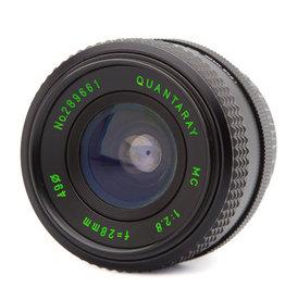 Quantaray Quantaray 28mm f/2.8Lens for Nikon Ai
