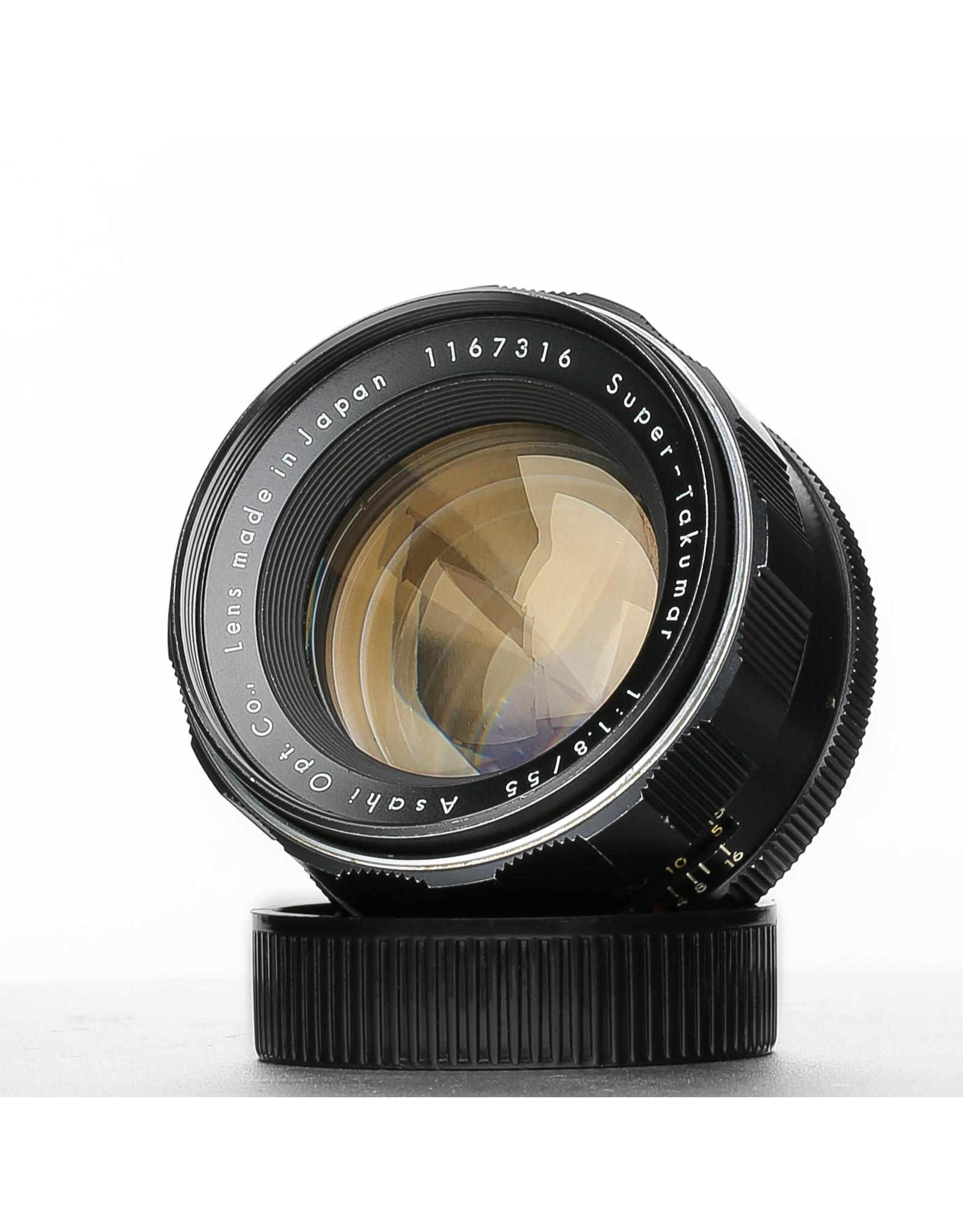 Pentax Pentax Super Takumar 55mm f1.8 M42 Lens