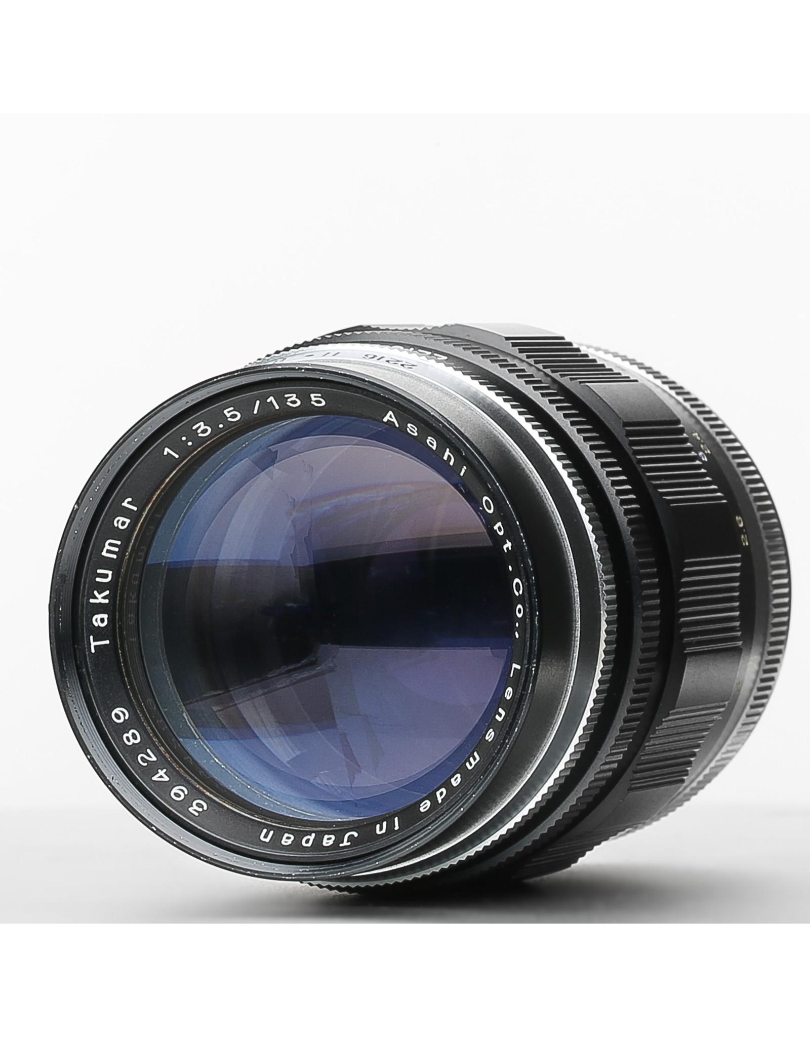 Pentax Pentax Takumar 135mm f3.5 M42 Lens (early)