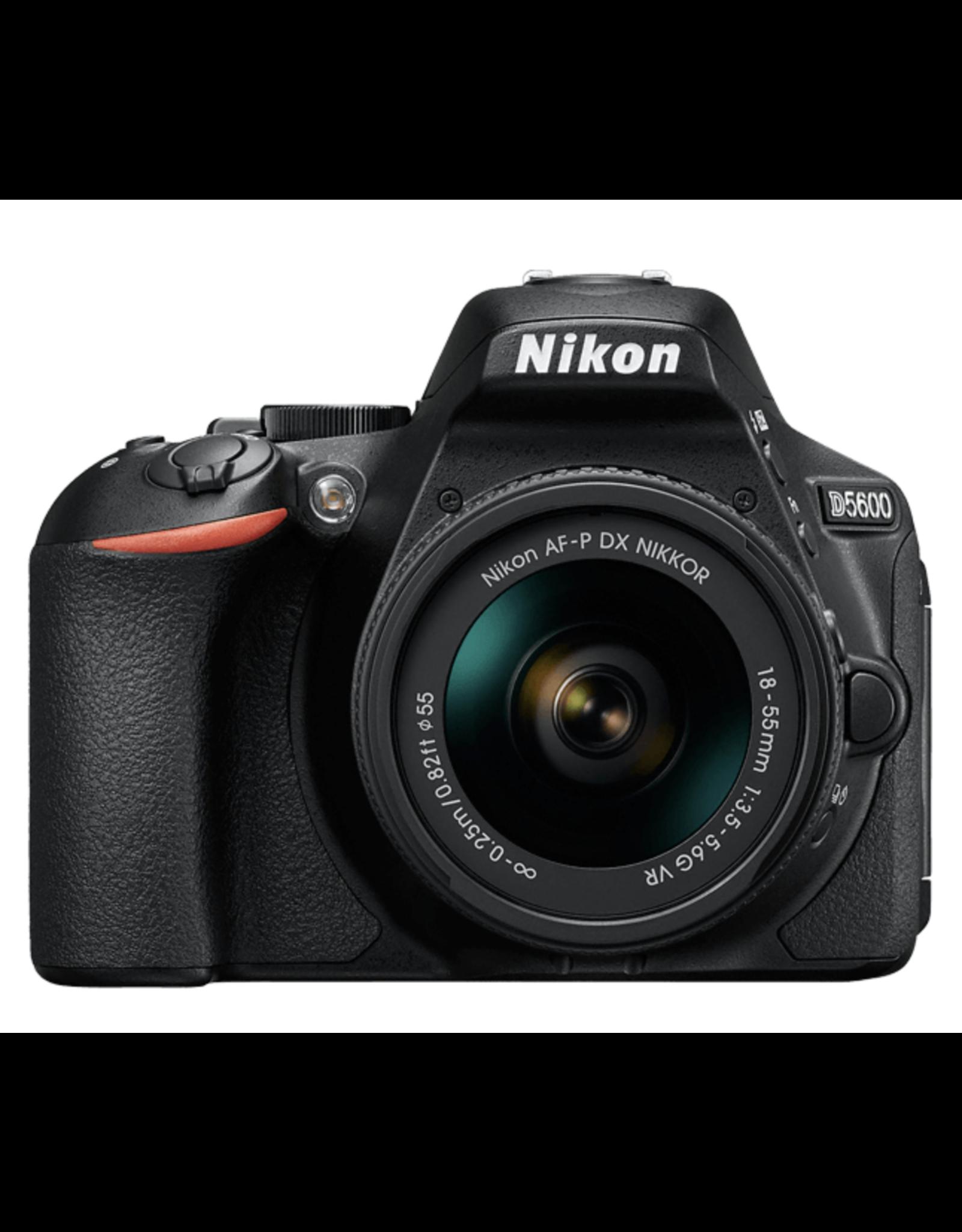 Nikon Nikon D5600 DSLR Camera with 18-55mm Lens