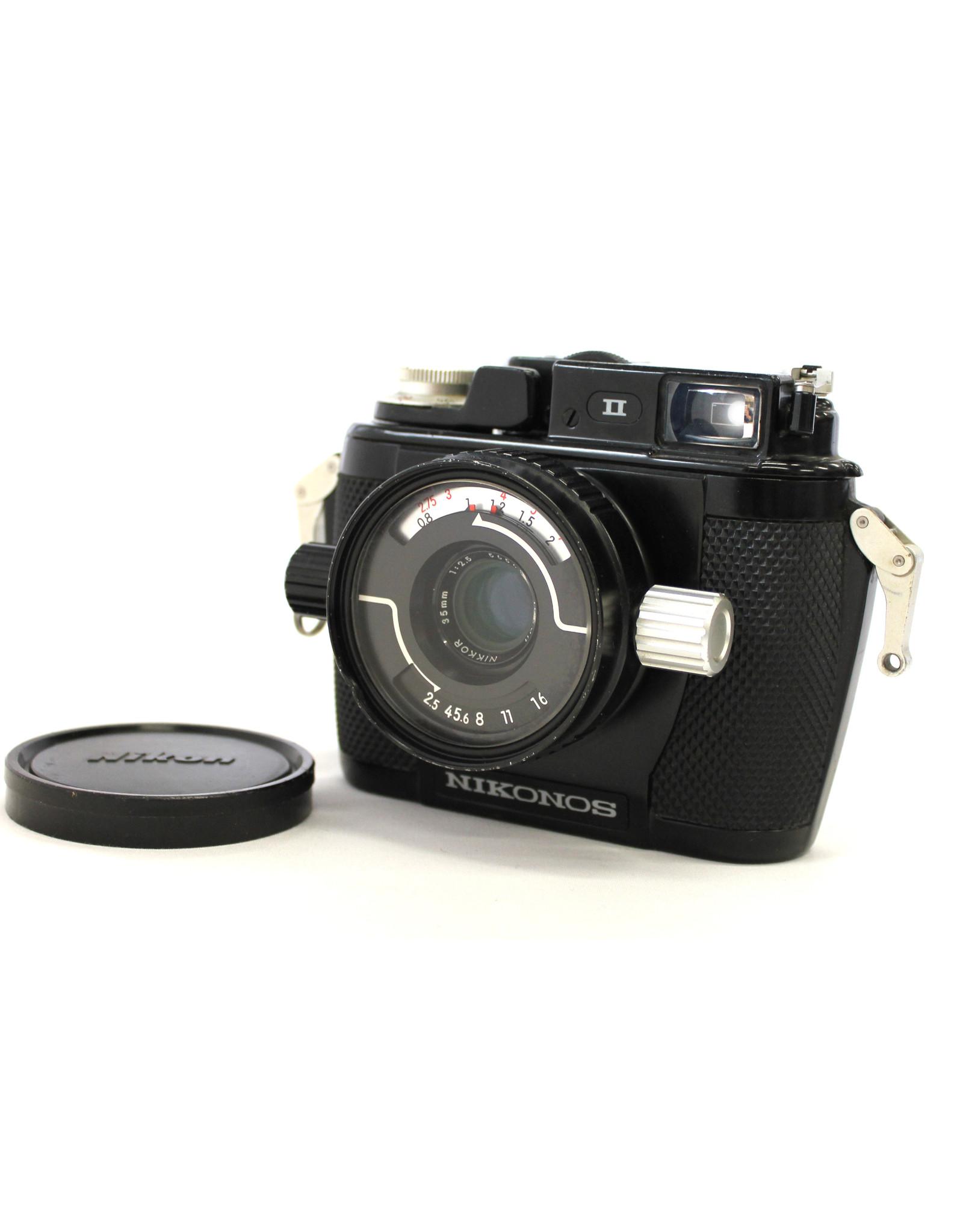 Nikon Nikon Nikonos II Underwater Camera w/35mm f2.8
