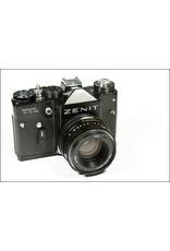 Zenit Zenit TTL 35mm SLR Film Camera w/Helios 44M-4 58mm f2 Lens