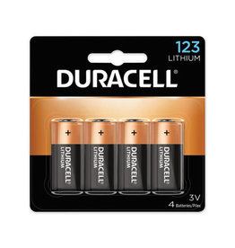 Duracell Duracell EL 123 x 4 Lithium battery