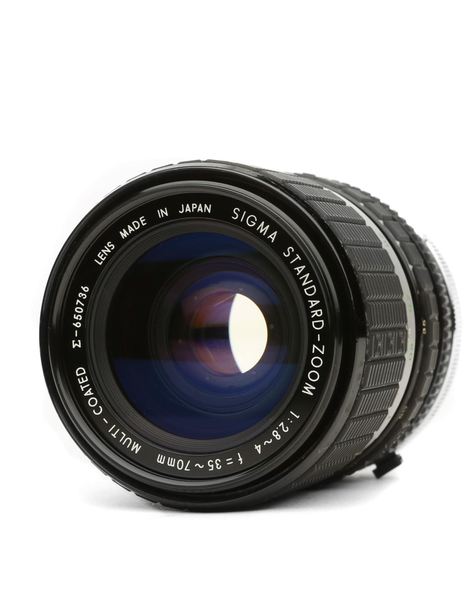 Sigma Sigma 35-70mm f2.8-4 Lens for Olympus OM