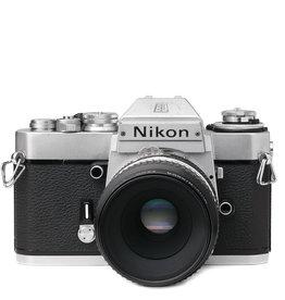 Nikon Nikon Nikomat EL 2 35mm SLR Camera w/55mm f2.8 Micro lens
