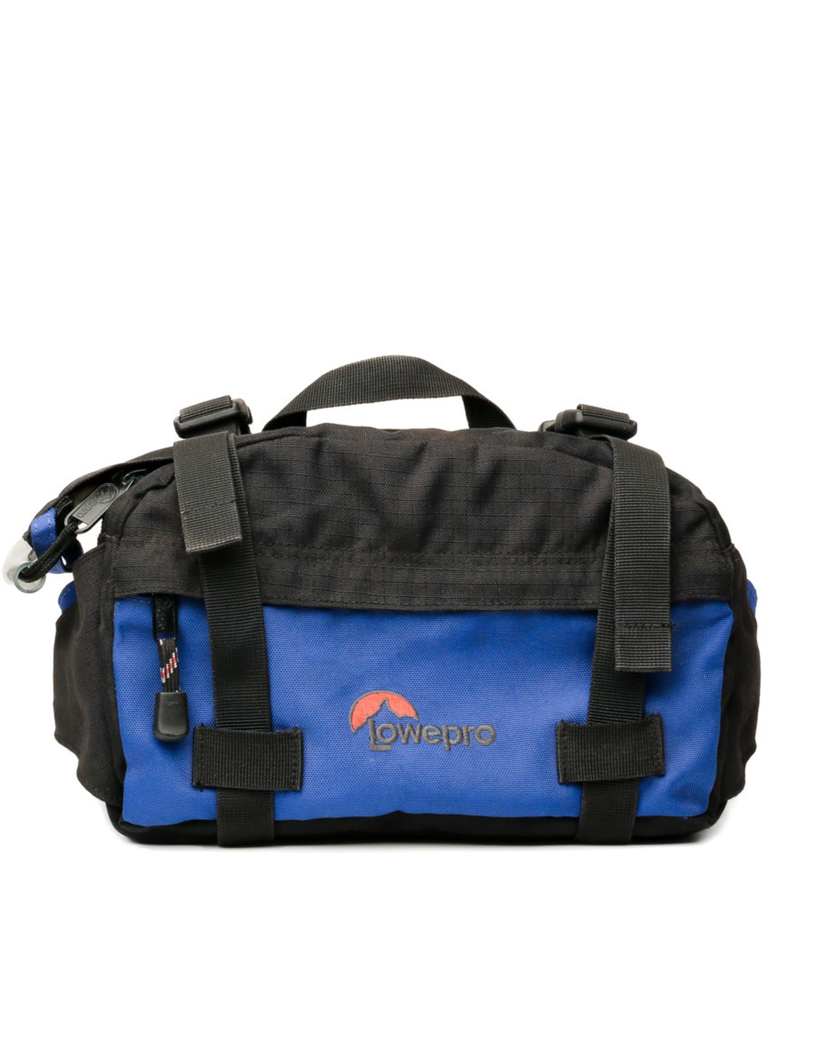 LowePro Vintage Lowepro Photo Runner Blue Camera Bag