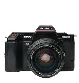 Minolta Minolta MAXXUM 5000 35mm SLR Camera w/28-85mm Lens